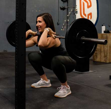 About Megan lifting weights